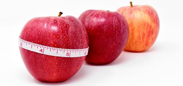 Abnehmen in Brandenburg - gesunde Äpfel als Symbol für gesunde Ernährung
