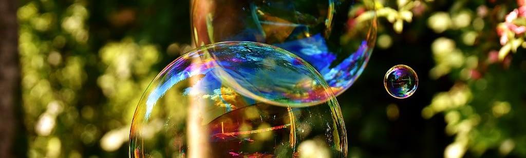 Rauchstopp Entzugserscheinungen - Seifenblasen in der Luft