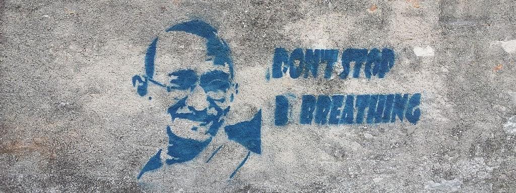 Rauchstopp Erfahrungen - Grafiti - weiter atmen