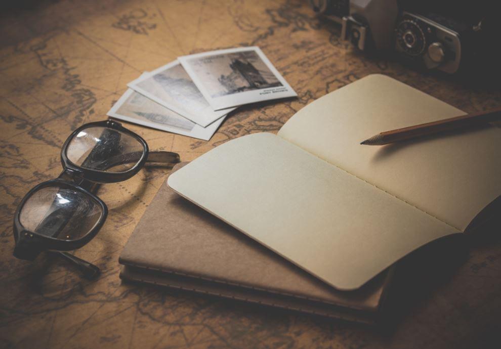 Jahresplanung handschriftliche Notizen