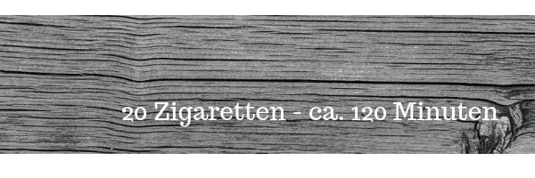 Rauchstopp - Zeitersparnis Symbolbild