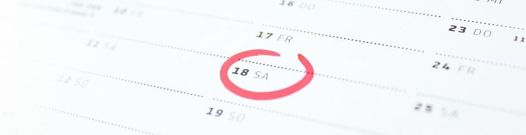 Raucherentwöhnung Hypnose - Termin im Kalender eingetragen