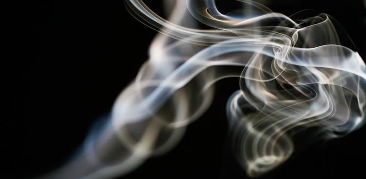 Nichtraucher werden - Symbolbild Rauch